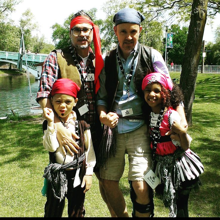 our pirate family  :-)