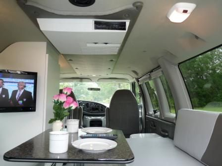 2003 Ford E350 Passenger Van Converted to RV