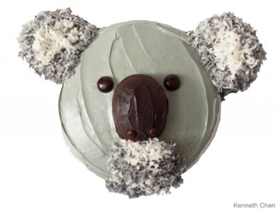 Koala Cupcake.  Kinda looks like an old man, but still a koala so it's good!