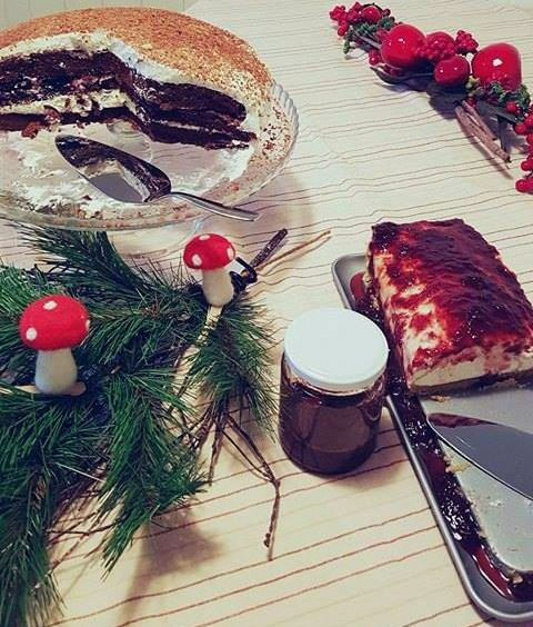 Our homemade delicious 😋 jams (like the good old days) perfect 👌 in any cake 😊