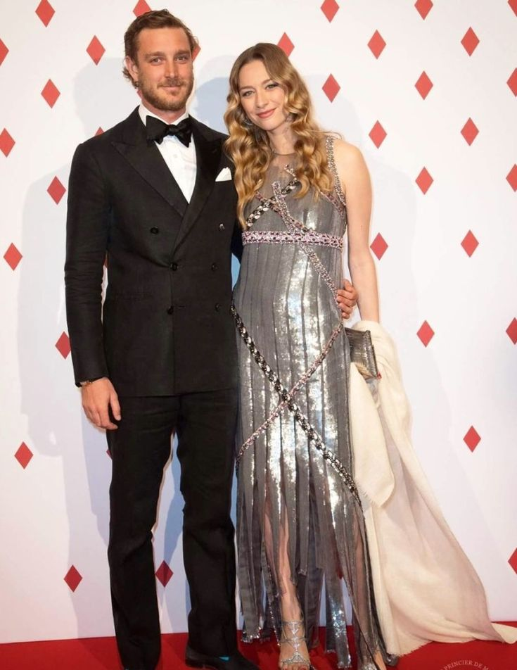 Myroyals: Surrealist Ball, Monaco, April 29, 2017-Pierre and Beatrice Borromeo Casiraghi
