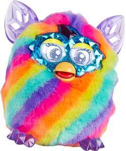 Furby Boom Rainbow Edition.