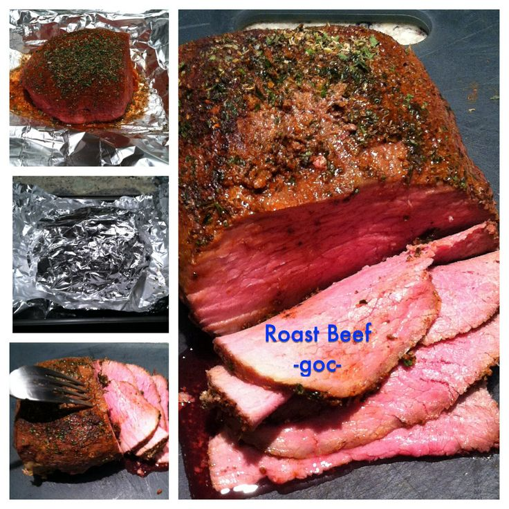 Perfect roast beef, Roast beef and Dinner tonight on Pinterest