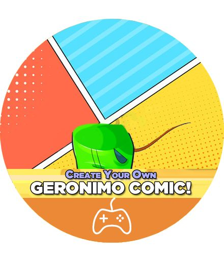 Geronimo Stilton Comic Maker