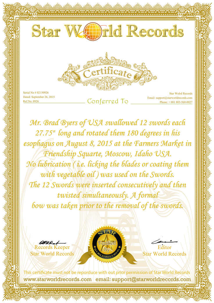 Guinness world record certificate template download image for World record certificate template