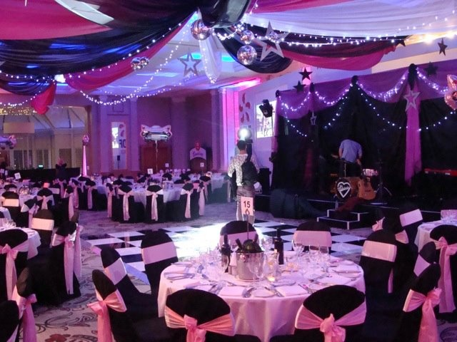 Pinks Black And Whites Create A Perfect Backdrop For A