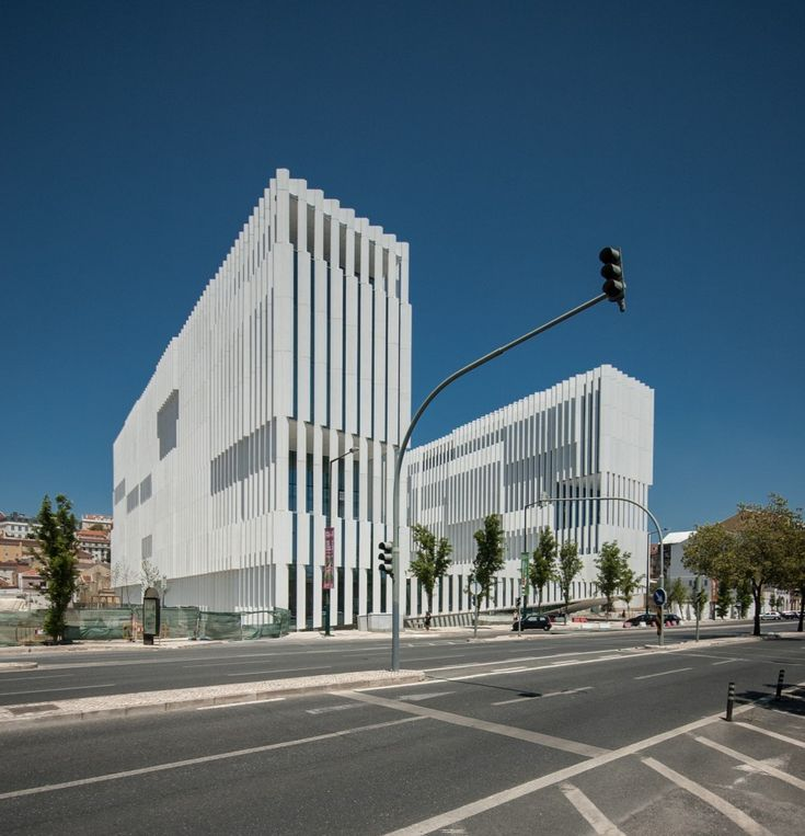 EDP Headquarters by Aires Mateus Architects, Lisbon, Portugal.