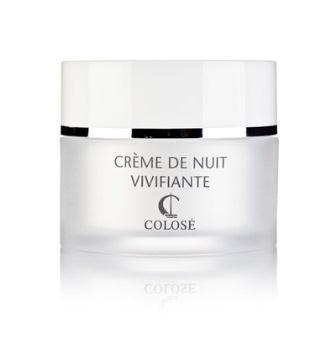 Natcreme med provitamin B5, forhindrer hudens aldring plejer og nærer tør hud.