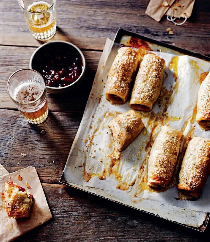 Pork and fennel sausage rolls recipe by Rachael Lane | Cooked