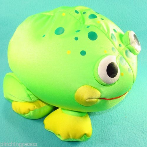 Animal Squishy Pillows : Moshi Pet Frog Micro Beads Pillow Cuddle Squishy Lovey Lucky Charm 12
