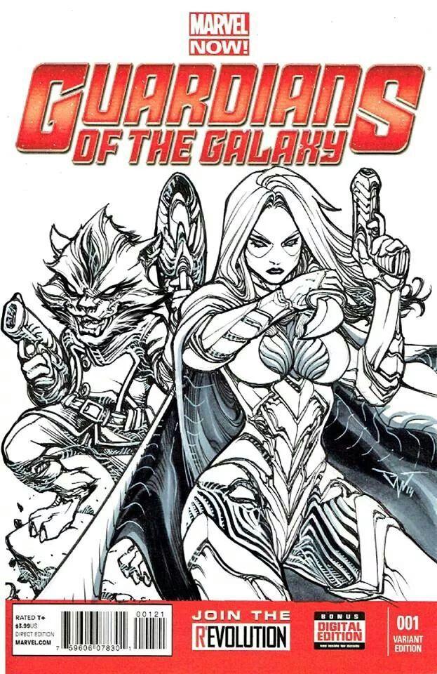 Guardians of the Galaxy #001 Variant Edition •Paolo Pantalena