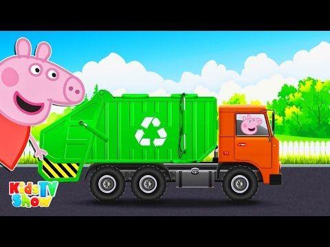 Peppa Pig Garbage Truck - Peppa Pig Cartoon - Kids TV Show - YouTube