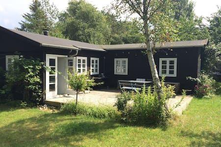 Schau Dir dieses großartige Inserat bei Airbnb an: Charming summerhouse - 100m to sea - Häuser zur Miete in Vejby