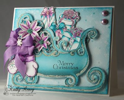Joyfully Made Designs by Kathy Roney using Heartfelt Creations' Celebrate the Season Collection