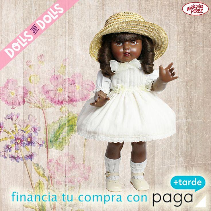 [MARIQUITA PÉREZ ESPECIAL CONJUNTO COLONIAL: 120,00€ + ENVÍO GRATIS] ¿Eres fan de la famosa #muñeca Mariquita Pérez o estás pensando hacer un regalo especial? Es perfecta para coleccionistas ya que es una edición limitada a 200 unidades lo que ha hecho que sea objeto de deseo por muchos amantes de #MariquitaPérez. #Dolls #MuñecasDeColeccion #DollsMadeInSpain #MariquitaPerezDolls