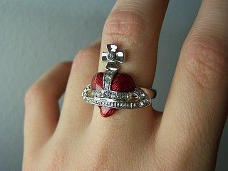 Vivienne Westwood rings #accessories