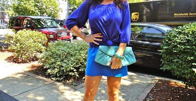 monochromatic monday: hues of blue: Monochromatic Mondays, I M Wear