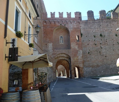 Cittadella, PD, walled city of the Veneto