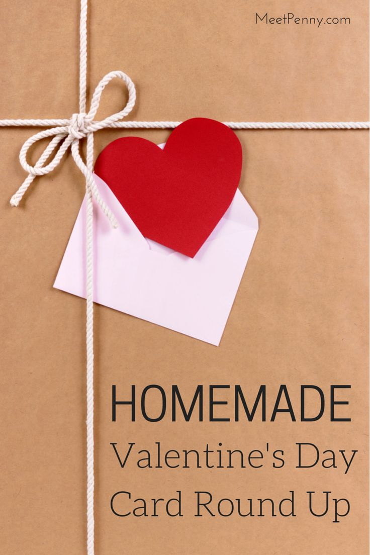The 25 best ideas about Homemade Valentines – Homemade Valentine Cards for School