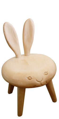 Bunny Stool - so cute!