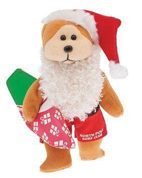 Beanie Kids - Surfin Santa the Bear - BRAND NEW