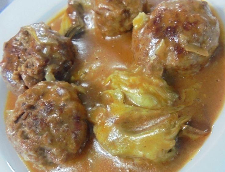Albóndigas de cordero con alcachofas http://www.carnivorosgourmet.es/ver_recetas_gourmet.php?id_receta=377 #recetas #gastronomía de Rubén Cordero