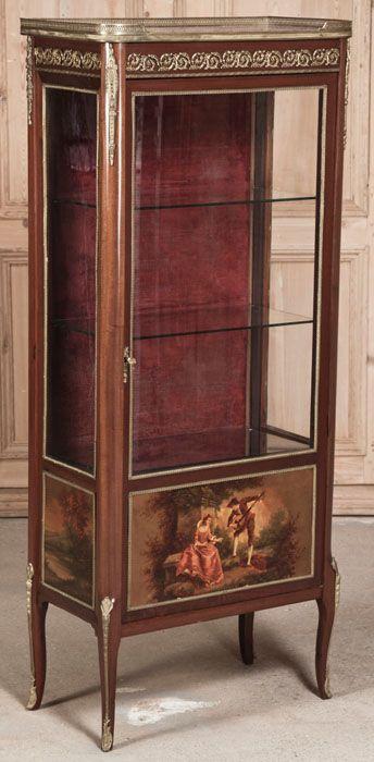 Antique Louis XVI Vitrine | Antique Furniture | Inessa Stewart's Antiques