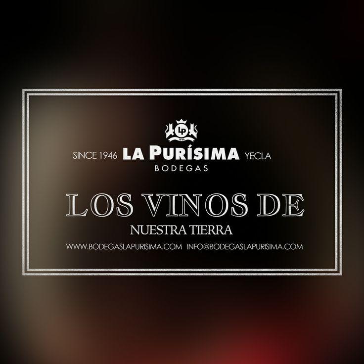 Los vinos de nuestra tierra.