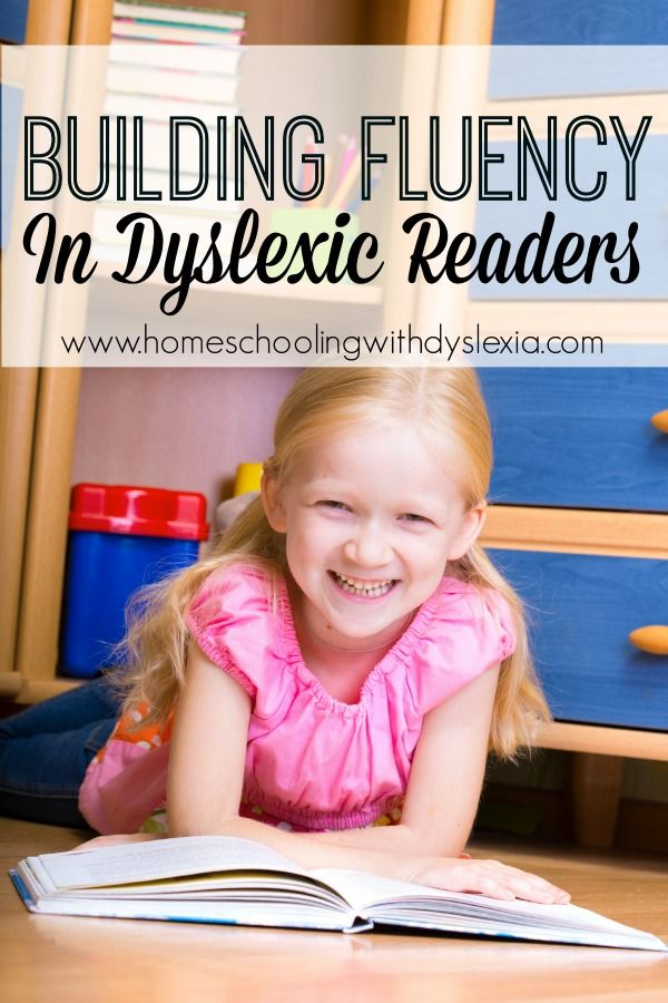 Reading fluency is difficult for the dyslexic reader to attain because they are generally spending most of their brain power trying to decode the words on the page.