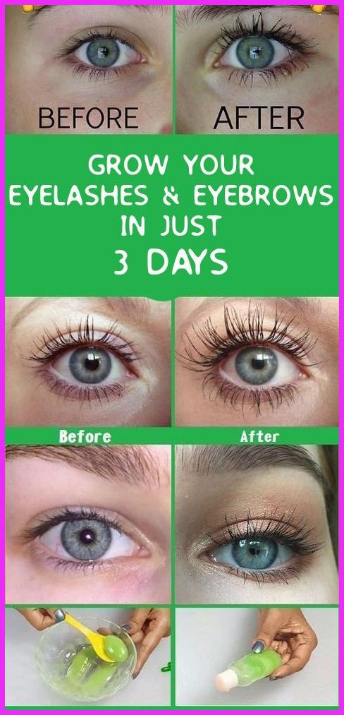 Want To Grow Your Eyebrows And Eyelashes Within 3 Days ...