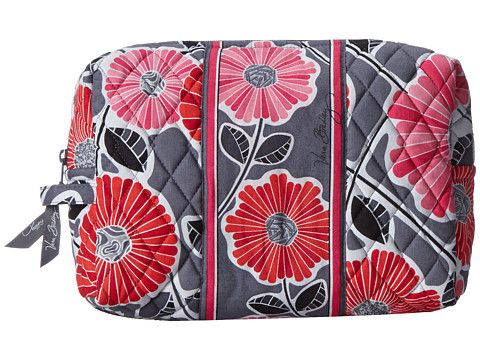Vera Bradley Luggage Large Cosmetic Cheery Blossoms