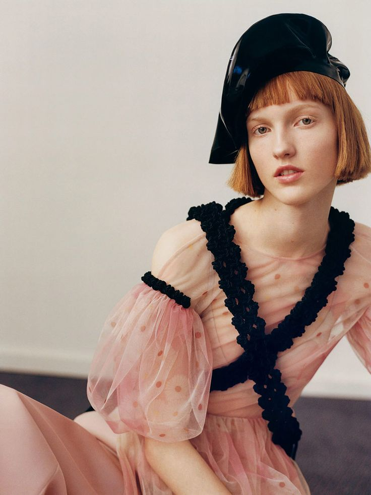 Ina Jensen & Line Brems for i-D Magazine Pre-Spring 2016   The Fashionography