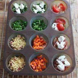 Mini Tortillas Rellenas   Cocinar en casa es facilisimo.com