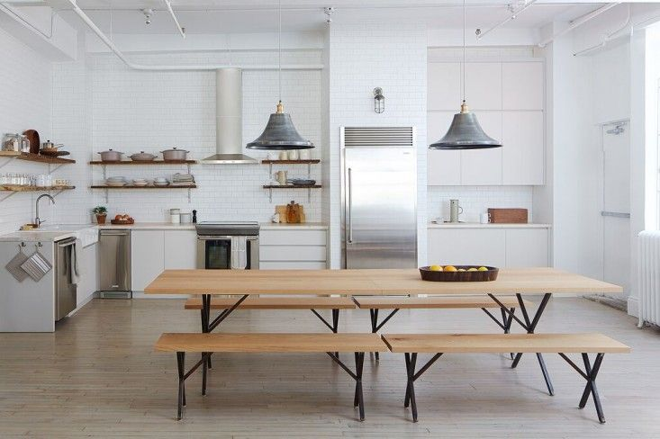 The Food52 staff kitchen in NYC designed by Brad Sherman | Remodelista