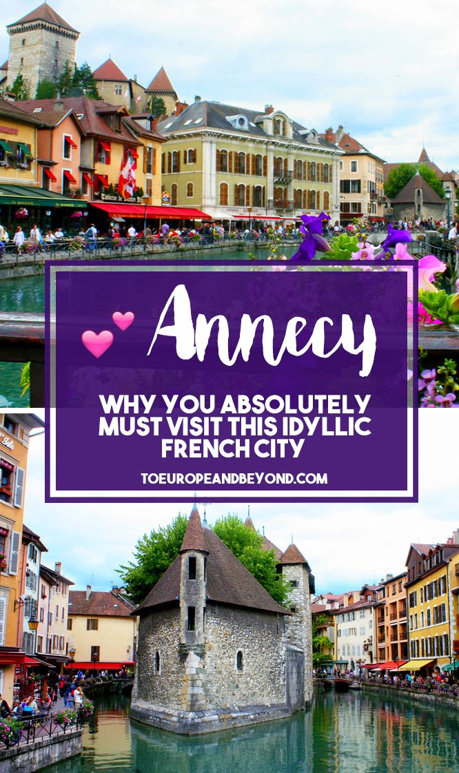 http://toeuropeandbeyond.com/visit-annecy/ I've wholeheartedly fallen in love with this idyllic village, having visited six times over the course of two years, coming up with excuses to drive there whenever possible—but what about Annecy could've possibly made this wanderlust-driven travel expert fall so hard? #travel #France