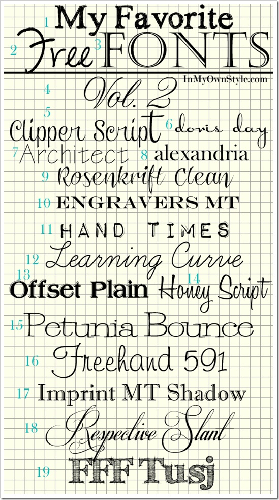 Free Fonts and photo tutorial on how to download them: Downloads Fonts, Printable, Fonts Fonts, Crossword Puzzles, Tattoo Fonts, Free Fonts, Photo Tutorials, Favorite Free,  Crossword