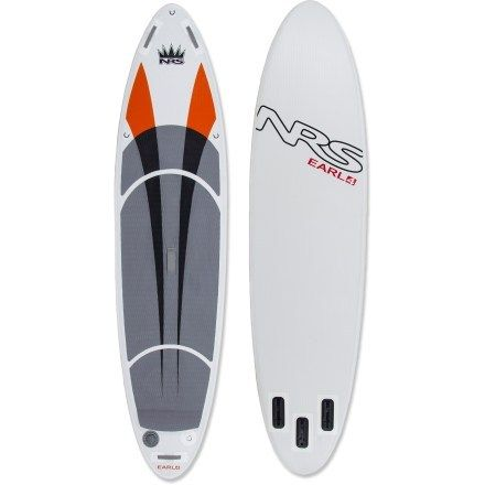NRS Earl 4 Inflatable Stand Up Paddleboard - 10 6