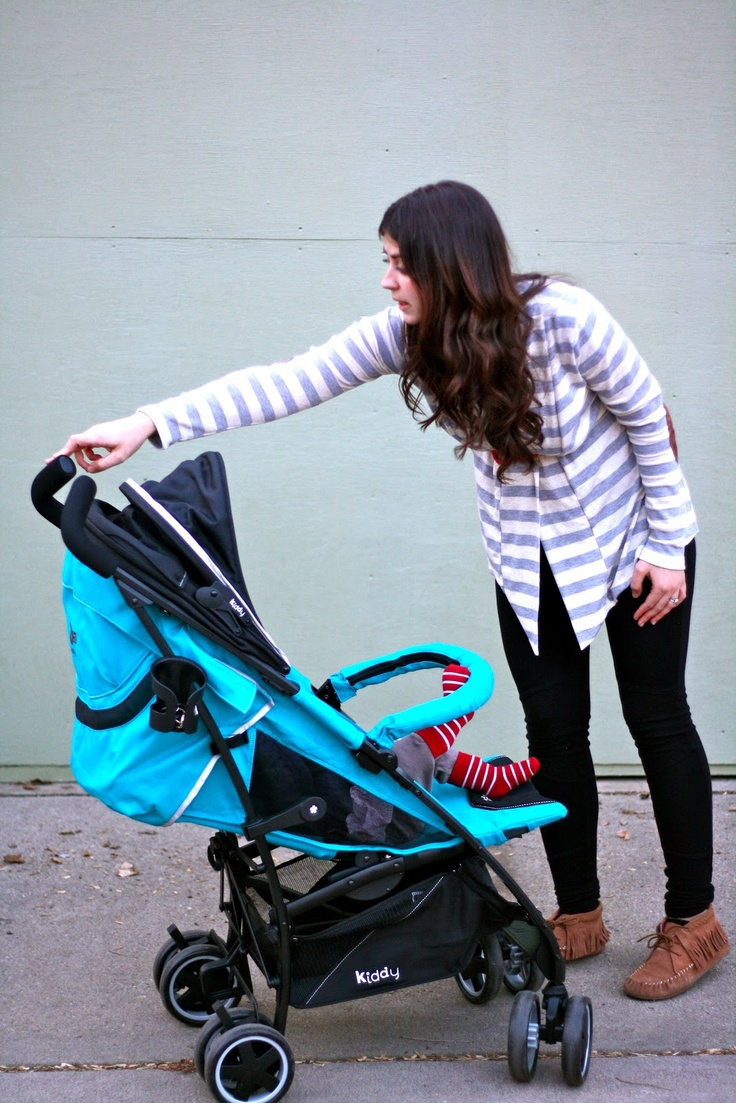 Kiddy City'N Move stroller review and giveaway! Stroller