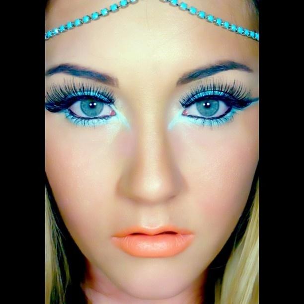 25 best Egyptian makeup ♡♥♡♥♡ images on Pinterest | Egyptian ...
