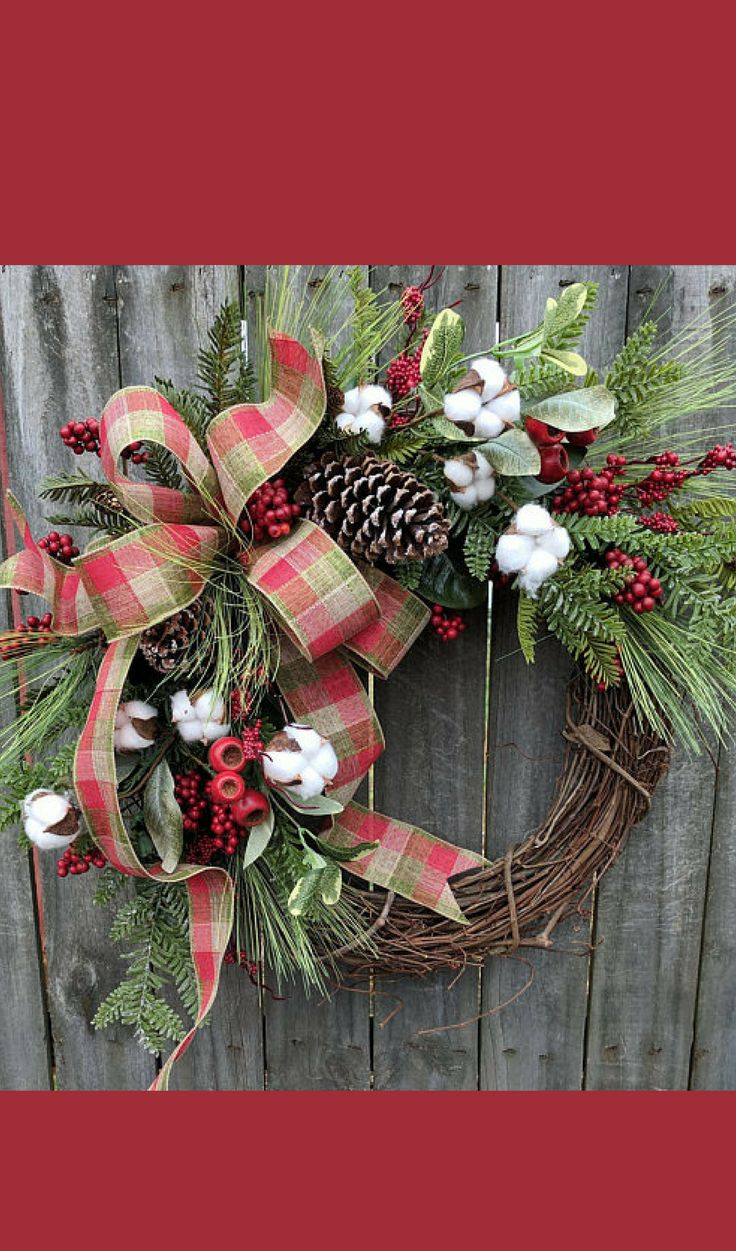 Beautiful handmade wreath for the holiday season