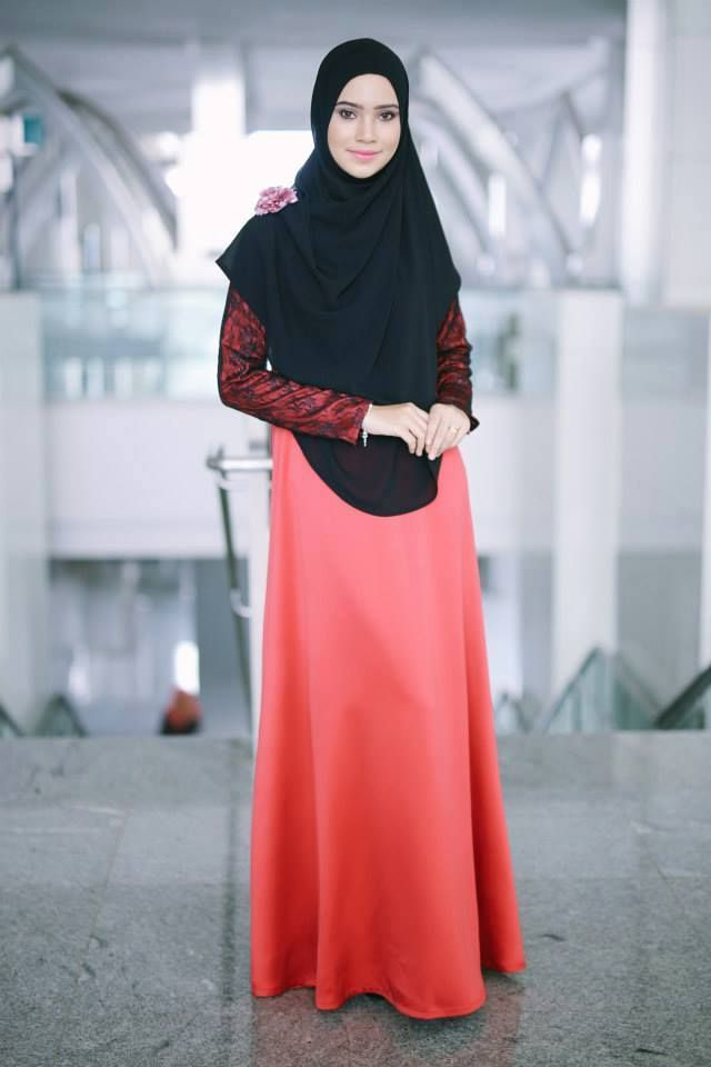 PROMO SET SHAWL+JUBAH  heart emoticon ZARA LACE JUBAH heart emoticon  Code : CHZR LJ (28) Deep Red Price : RM199.00 including postage  Kindly PM us to order, tqvm