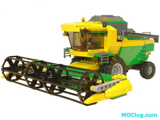LEGO 7636 Combine Harvester MOD
