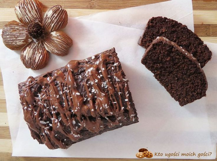 Ciasto czekoladowe z kaszy gryczanej - bez mąki i cukru