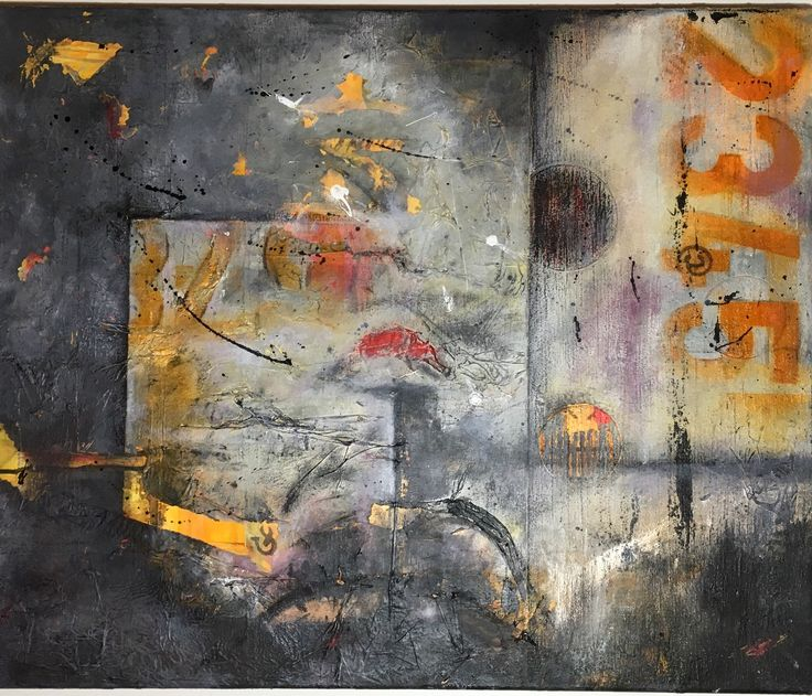 Mixed media 60 x50 cm on canvas