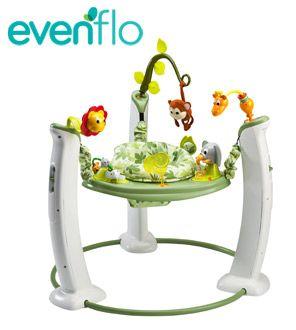 Win a Evenflo baby activity centre worth £129.99!