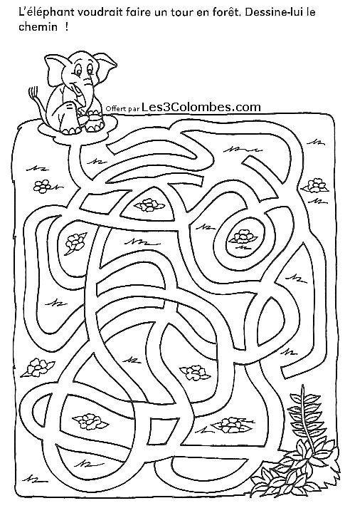 686 best images about zoek opdracht on pinterest 14 - Labyrinthe a imprimer ...