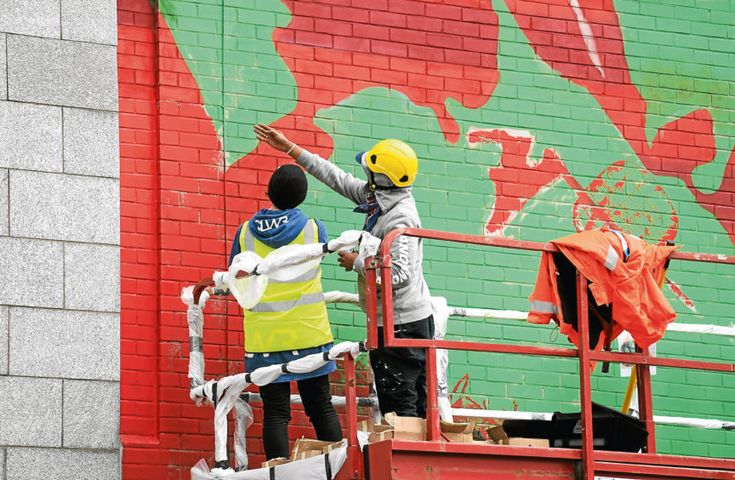 EVENING EXPRESS - Walls around Aberdeen city centre transformed for Nuart Festival