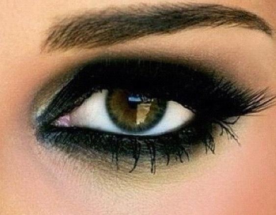 black eyeshadow: Makeup Doee, Beauty Makeup, Eye Makeup, Makeup Ideas, Dat Makeup, Makeup Looks, Everyday Makeup