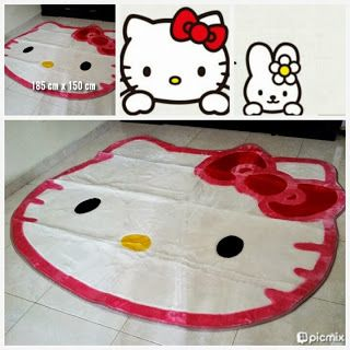 Toko Cherish Imut: Jual Karpet Hello Kitty Grosir Ecer Murah Jumbo Mo...