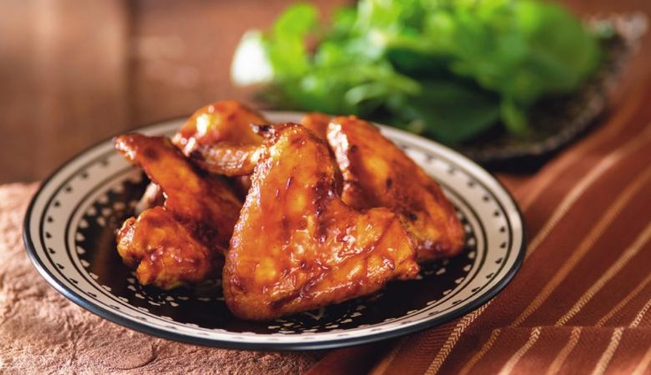 Licky licky Sweet and Sticky Chicken Wings